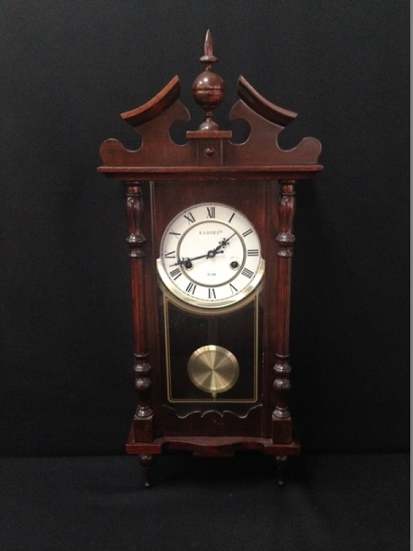 vintage kassel 31 day wall clock with chimes