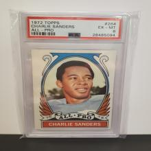 Lot 11: 1972 Topps #267 Larry Little EX-MT 6 PSA Graded