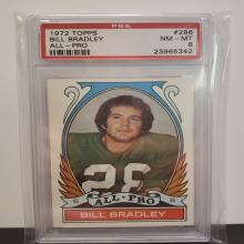 Lot 12: 1972 Topps #286 Bill Bradley NM-MT 8 PSA Graded