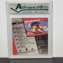 Lot 13: 1998 Pinnacle Inside Diamond Edition Mark Mcgwire