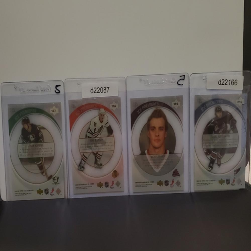 Lot 19: (4) 2005-06 Upper Deck Ice Premieres Cards