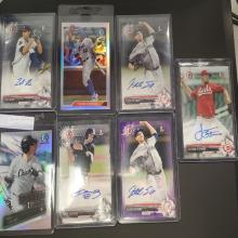 Lot 20: (7) Topps Bowman 2016-2017 Cards