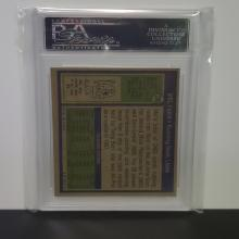 Lot 29: 1972 Topps #288 Mel Farr PSA Graded NM-MT 8