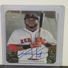 Lot 36: 2016 Topps Archives 1969 David Ortiz Autograph