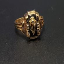 Lot 56: 10 Karat Yellow Gold Class Ring