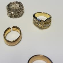Lot 98: (11) Assorted Cocktail Rings