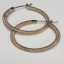 Lot 99: (3) Pairs of Rose Gold Over 925 Earrings