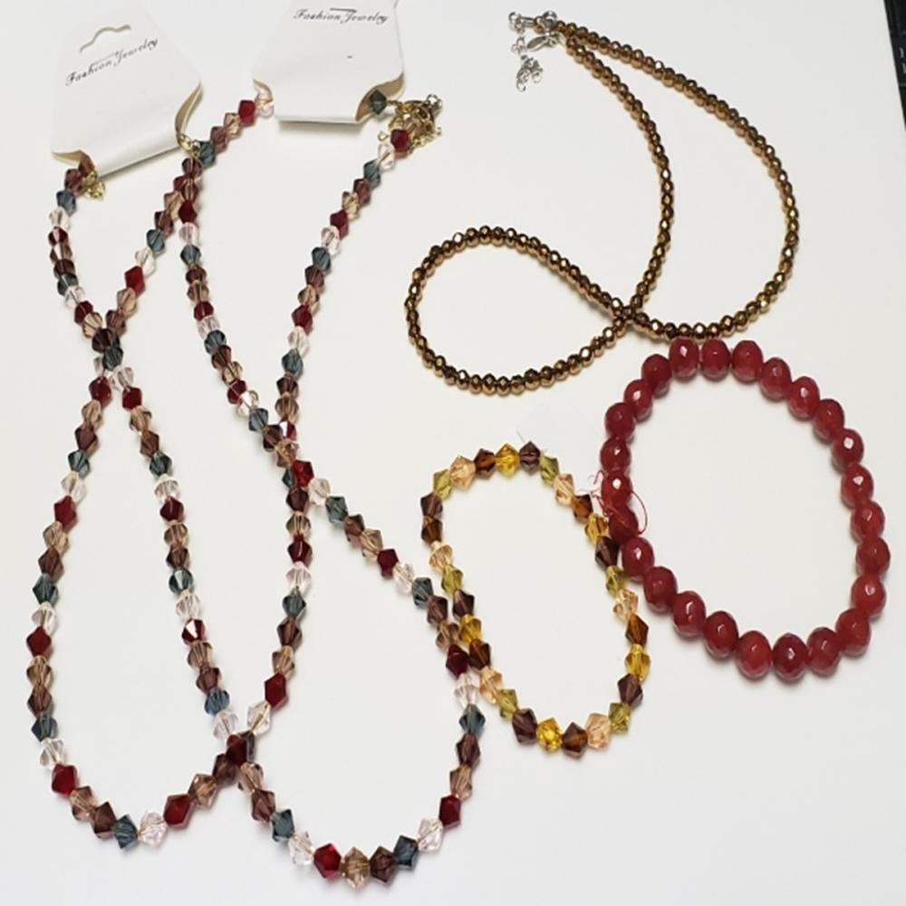Beaded Bracelet Lot