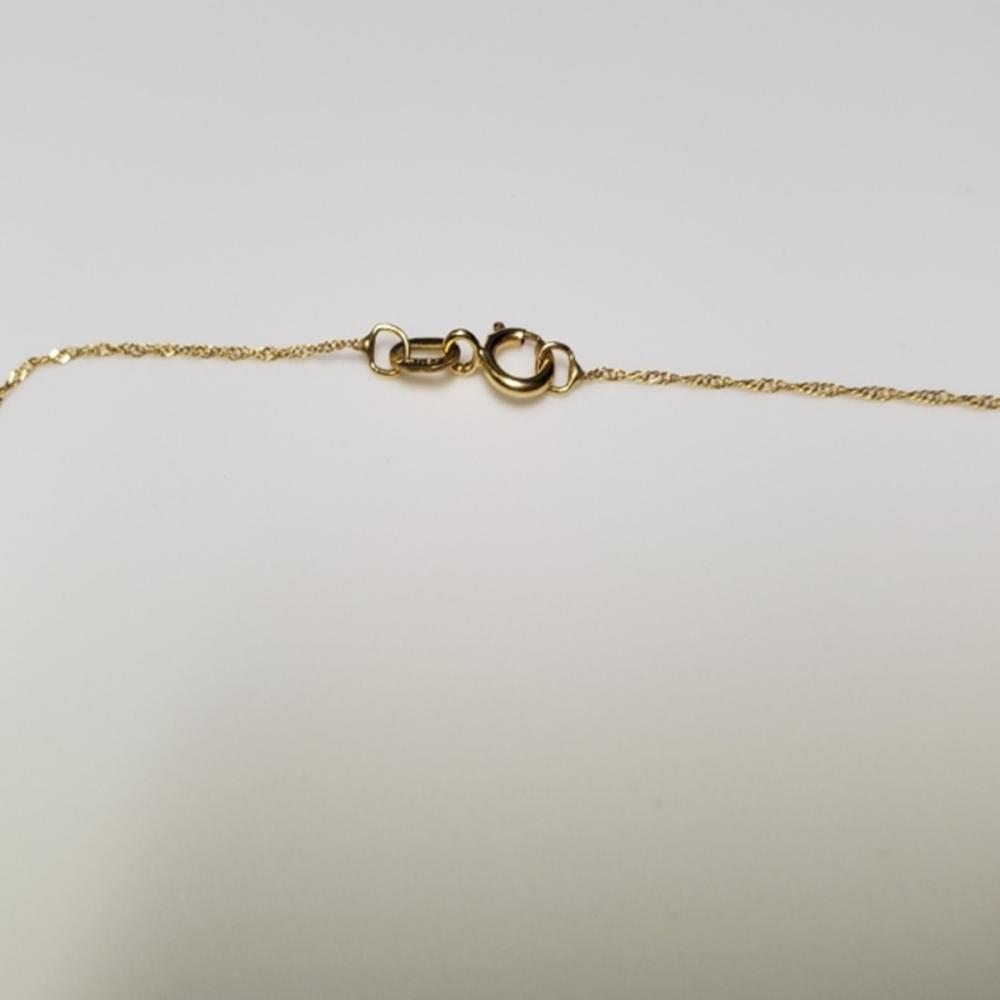 Lot 124: 14 Karat Yellow Gold Chain/Pendant Necklace