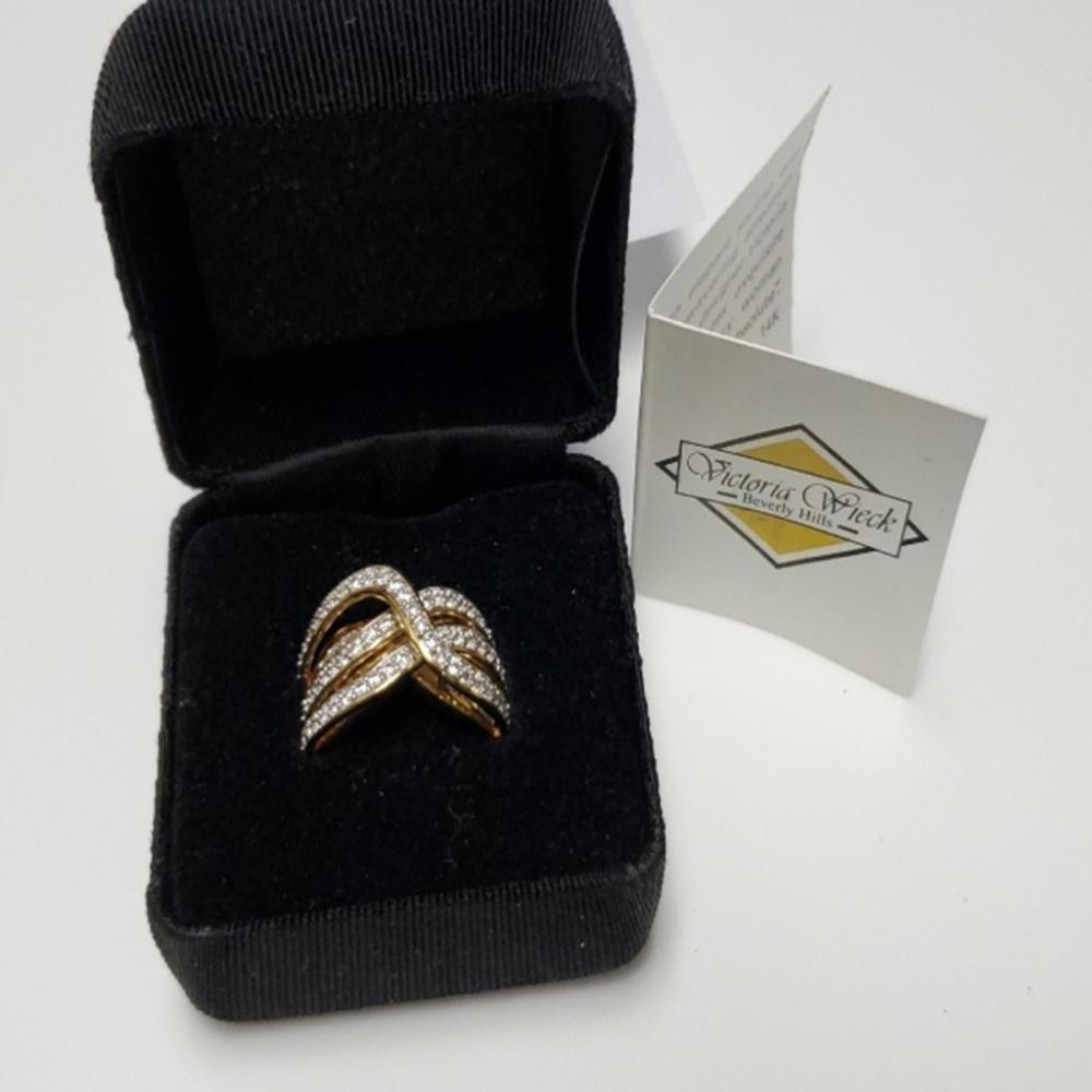 Gold Over Sterling Silver Ring by Victoria Wieck