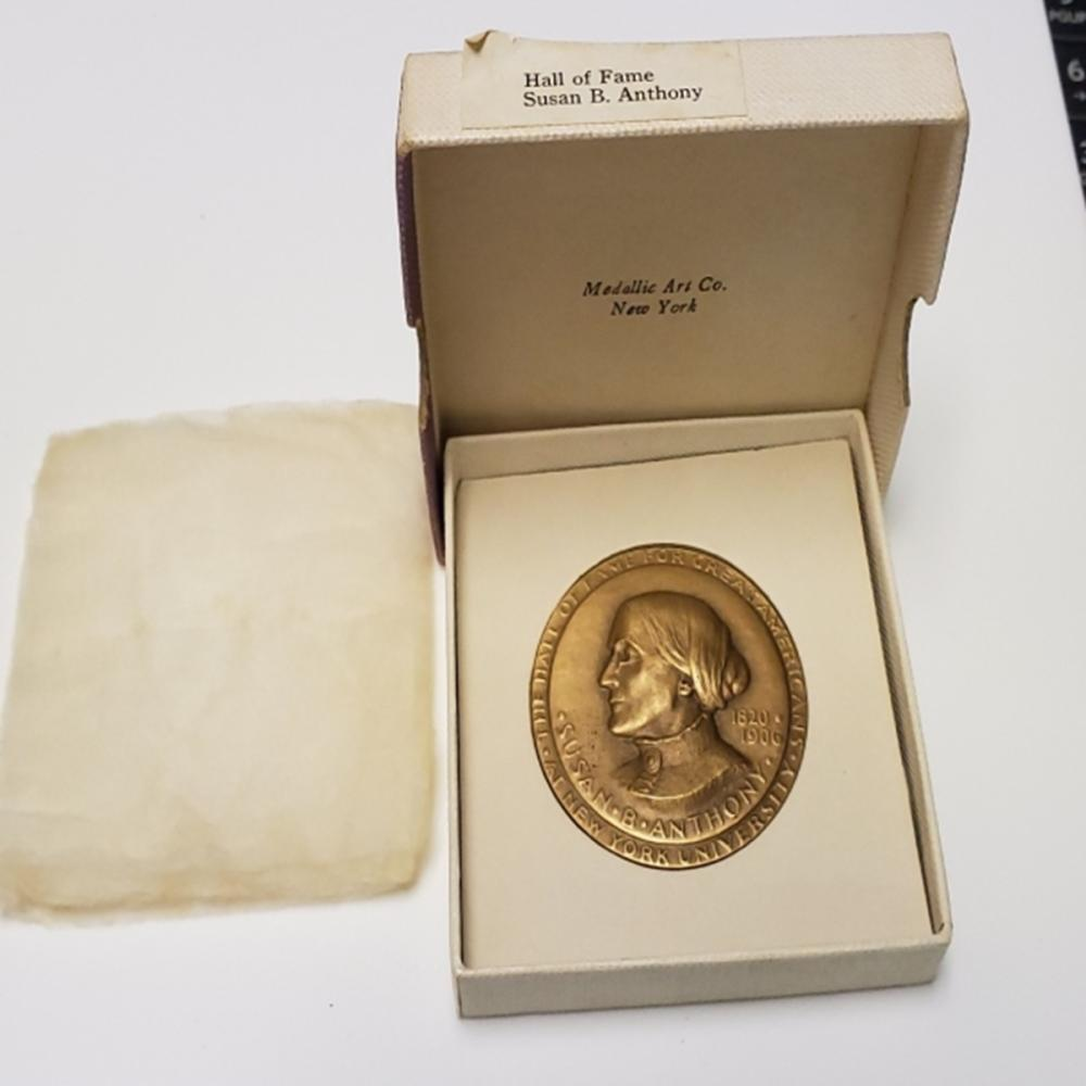 SUSAN B. ANTHONY Medal Hall of Fame