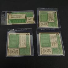 Lot 162: (4) 1974 Los Angeles Dodger Player Cards