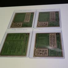 Lot 174: (4) 1974 Topps Atlanta Braves Player Cards