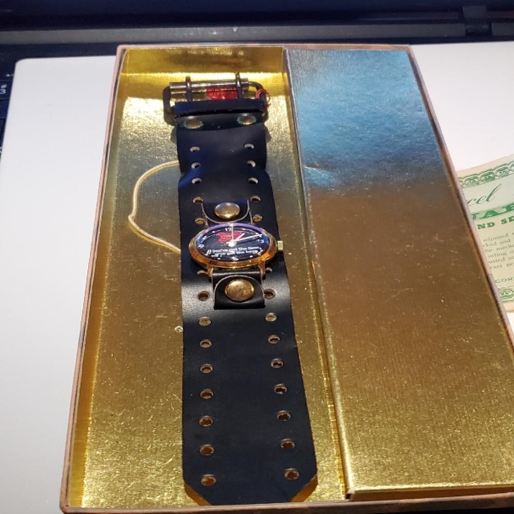 Vintage Marcel & Cie Miller Lite Watch, NIB!!!