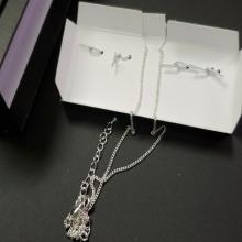 Lot 179: NVC Interchangeable Cultured Pearl Necklace Set