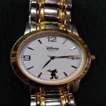 Lot 186: Mens Disney Time Works Mickey Mouse Watch