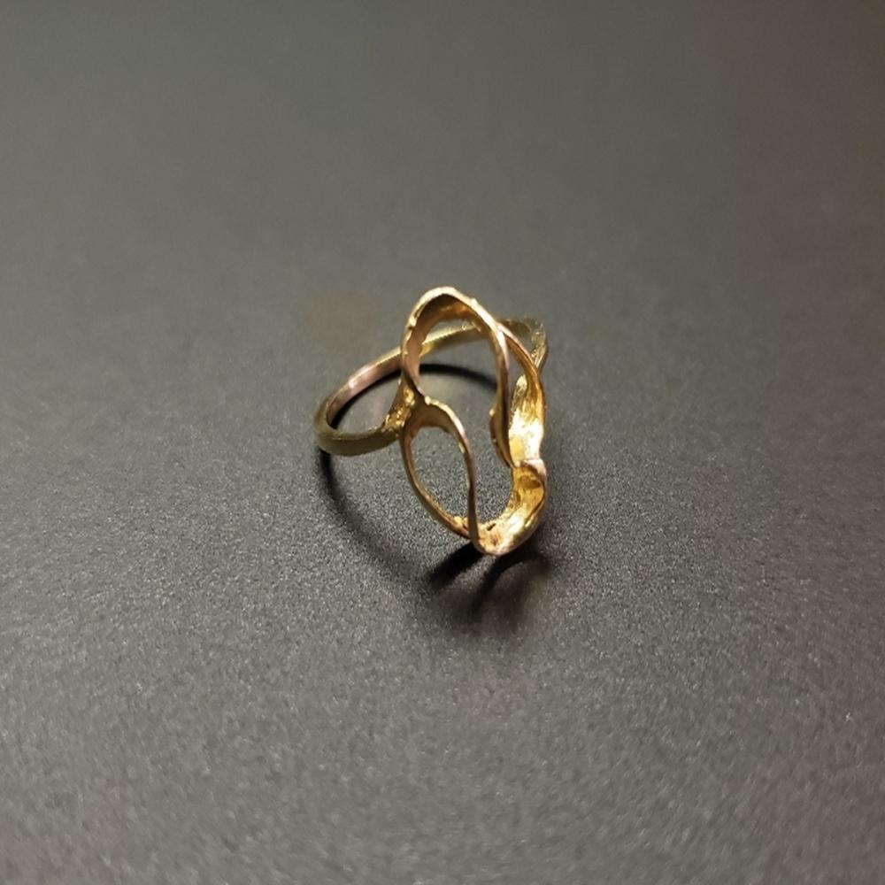 14 Karat Yellow Gold Ladies Ring