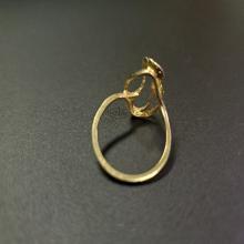Lot 197: 14 Karat Yellow Gold Ladies Ring