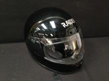 Motorcycle Full Face Helmet 'RAIDER DOT' LG.