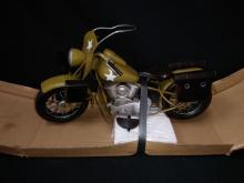 WWII US Army Harley Davidson Motorcycle Replica