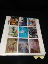 1980's-1990's HILDEBRANT Trading Cards in binder.