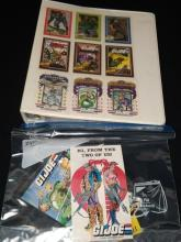 1991 Hasbro GI JOE Trading Cards & PC Set.