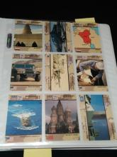 Topps, Pacifica Desert Storm Trading Cards.