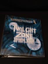 2000 CBS TWILIGHT ZONE Trading Cards.