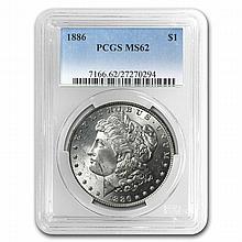 1921 Morgan Dollars - MS-62 PCGS