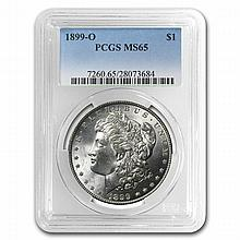 1921 Morgan Dollars - MS-65 PCGS