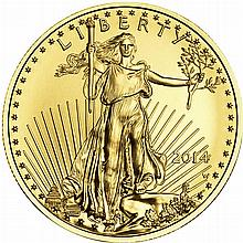 1/4 oz American Gold Eagle (BU)