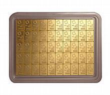 50 Gram Valcambi Gold CombiBar