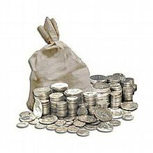 90% Silver 1964 Kennedy Half-Dollars - $100 Face-Value Bag