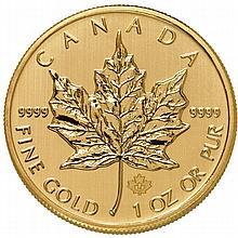 2014 1 oz Canadian Gold Maple Leaf (BU)