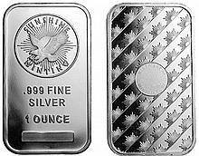 5x - 1 oz Sunshine Silver Bar