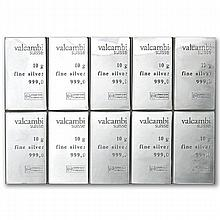 100 Gram Valcambi Silver CombiBar