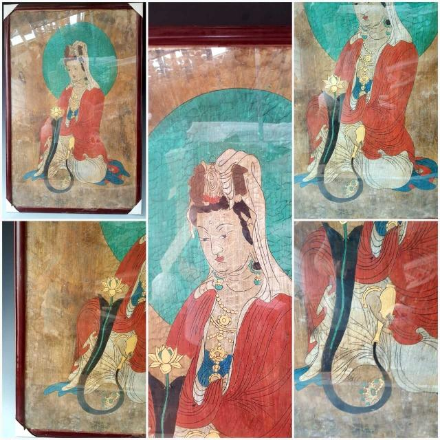 Ancient chinese dunhuang painting murals for Chinese mural painting