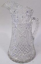 AMERICAN BRILLIANT CUT GLASS WAISTED ICE WATER