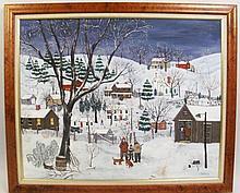"JANIS PRICE. (Ohio, B. 1933). ""The Night Hunt""."