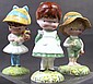 THREE BESWICK-ENGLAND CHILDREN FIGURINES. 4 1/2