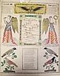PRINTED FRANKTON BERKS COUNTY, PA.  May 13, 1863.  Hand colored.  17