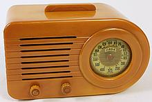 FADA 200 SERIES ORANGE CASE RADIO. With beautiful