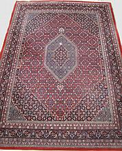 INDO-PERSIAN MODERN TABRIZ ORIENTAL RUG. Thick