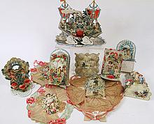 VALENTINE COLLECTION. Ca. 1890-1925. An amazing