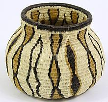 WOUNAAN (PANAMA) BASKET. From the Indians of the