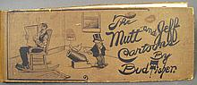 MUTT & JEFF CARTOON BOOK.  Ca. 1910.  Approx. 50 pages.  5 1/2