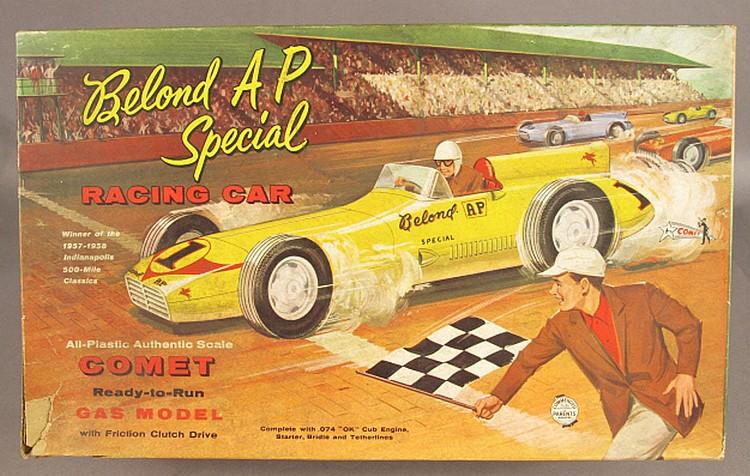 BELOND AP SPECIAL BOXED RACING CAR.