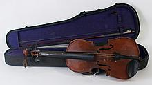 STUDENT VIOLIN. Labeled