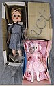 TWO DOLLS.  Including Tina toddler in original box together with Madame Alexande