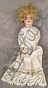 A&M; 390 GERMAN BISQUE DOLL.  With jointed composition body.  17